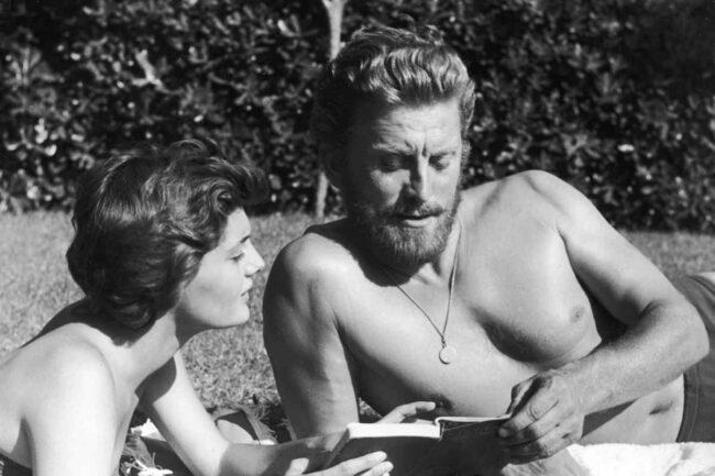 Kirk Douglas e sua moglie Anne (GettyImages)