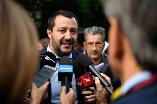 Matteo Salvini - leader della Lega (GettyImages)