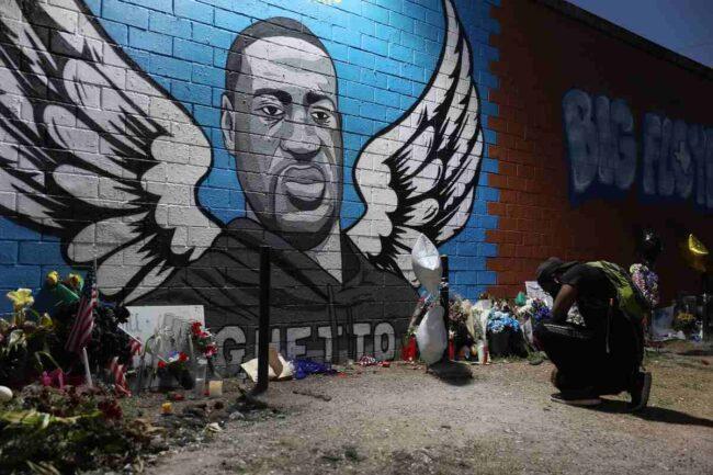 Murales George Floyd (Getty Images)