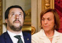 Matteo Salvini ed Elsa Fornero (Getty Images)