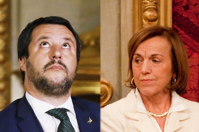 Matteo Salvini ed Elsa Fornero (Getty Images)
