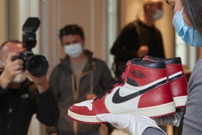 Scarpe di Michael Jordan (Twitter)