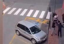 Aggressione a Ventimiglia (Youtube)