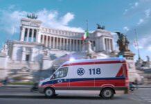 Ambulanza a Roma (AdobeStock)