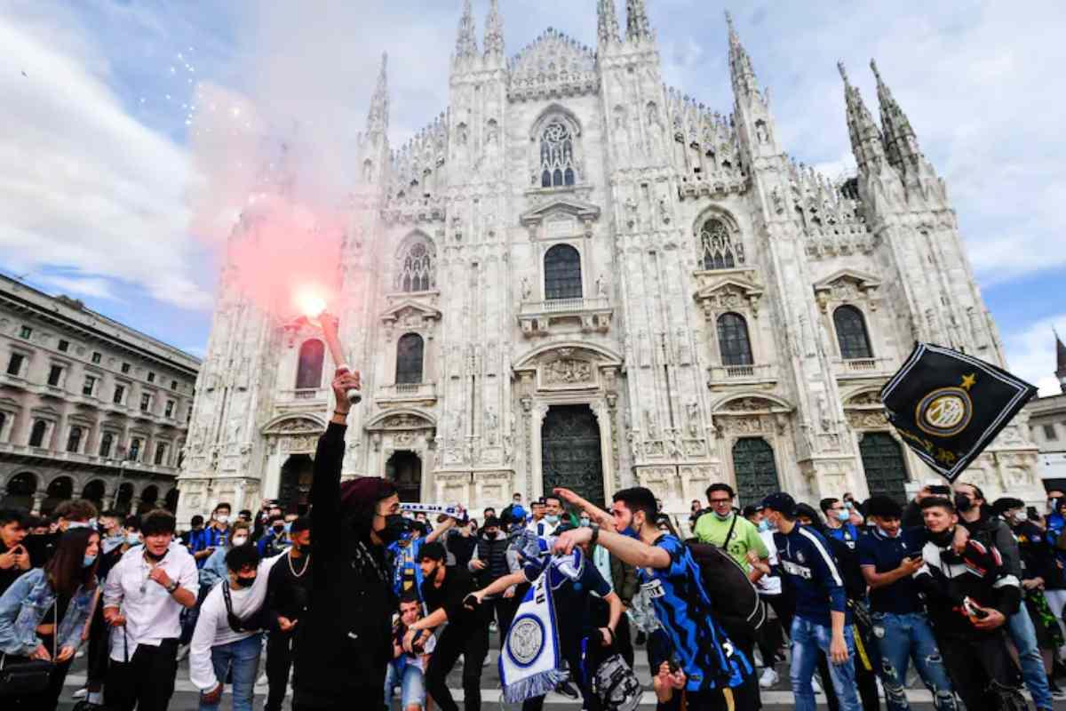 Inter - Milano - Assembramenti (Google Immagini)