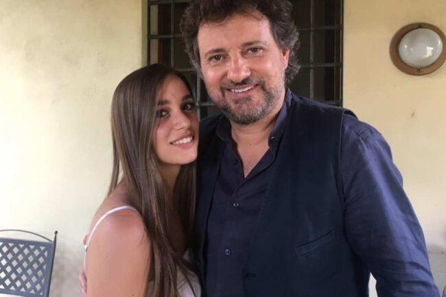 Leonardo Pieraccioni e Luana D'Orazio (Instagram)