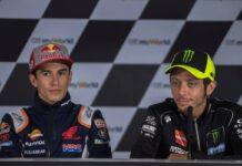 Marc Marquez e Valentino Rossi (GettyImages)