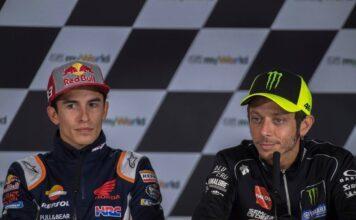"""Marquez duro su Valentino Rossi: """"Non è più quello di un tempo"""""""
