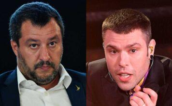 Fedez Salvini, niente scontro in tv? Il rapper ha rifiutato per un motivo