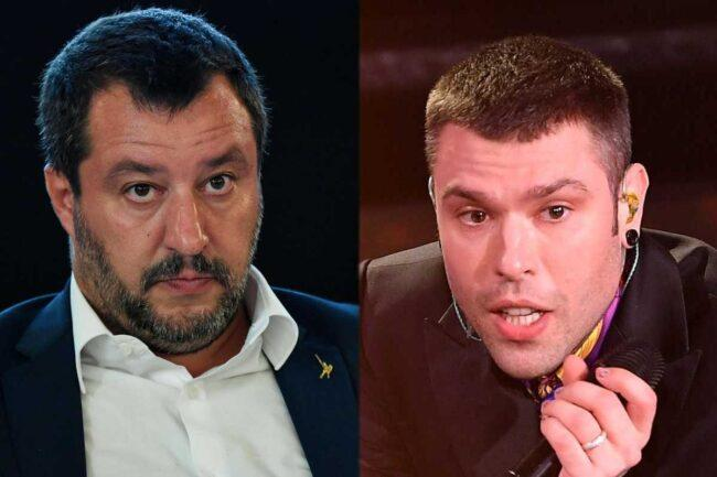 Matteo Salvini e Fedez