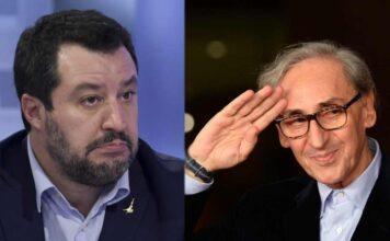 """""""Battiato è un piccolo uomo"""": lo scioccante tweet di Salvini"""