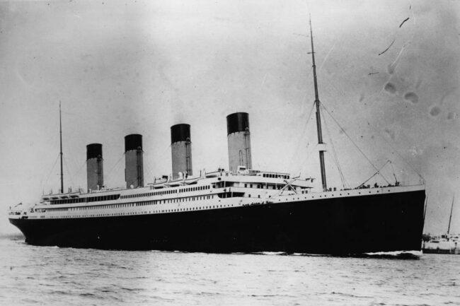 Titanic (GettyImages)