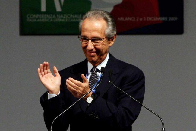Bruno Ermolli, braccio destro di Berlusconi (Getty Images)