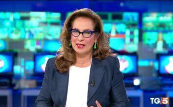 "Cesara Buonamici dà la notizia al TG5: ""Sono io la protagonista"""