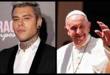 Fedez e Papa Francesco (Getty Images)