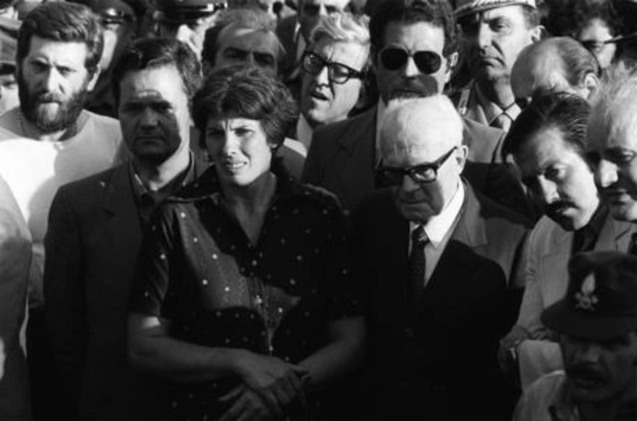 Franca Rampi e Sandro Pertini (Google Images)
