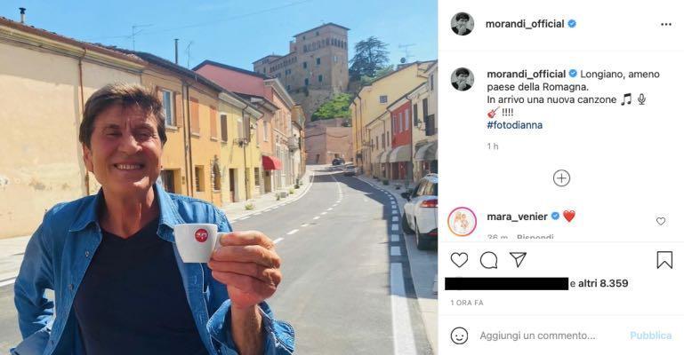 Gianni Morandi non si ferma e fa gioire i fan: annuncio a sorpresa