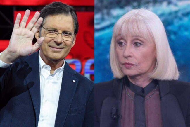 Fabrizio Frizzi e Raffaella Carrà