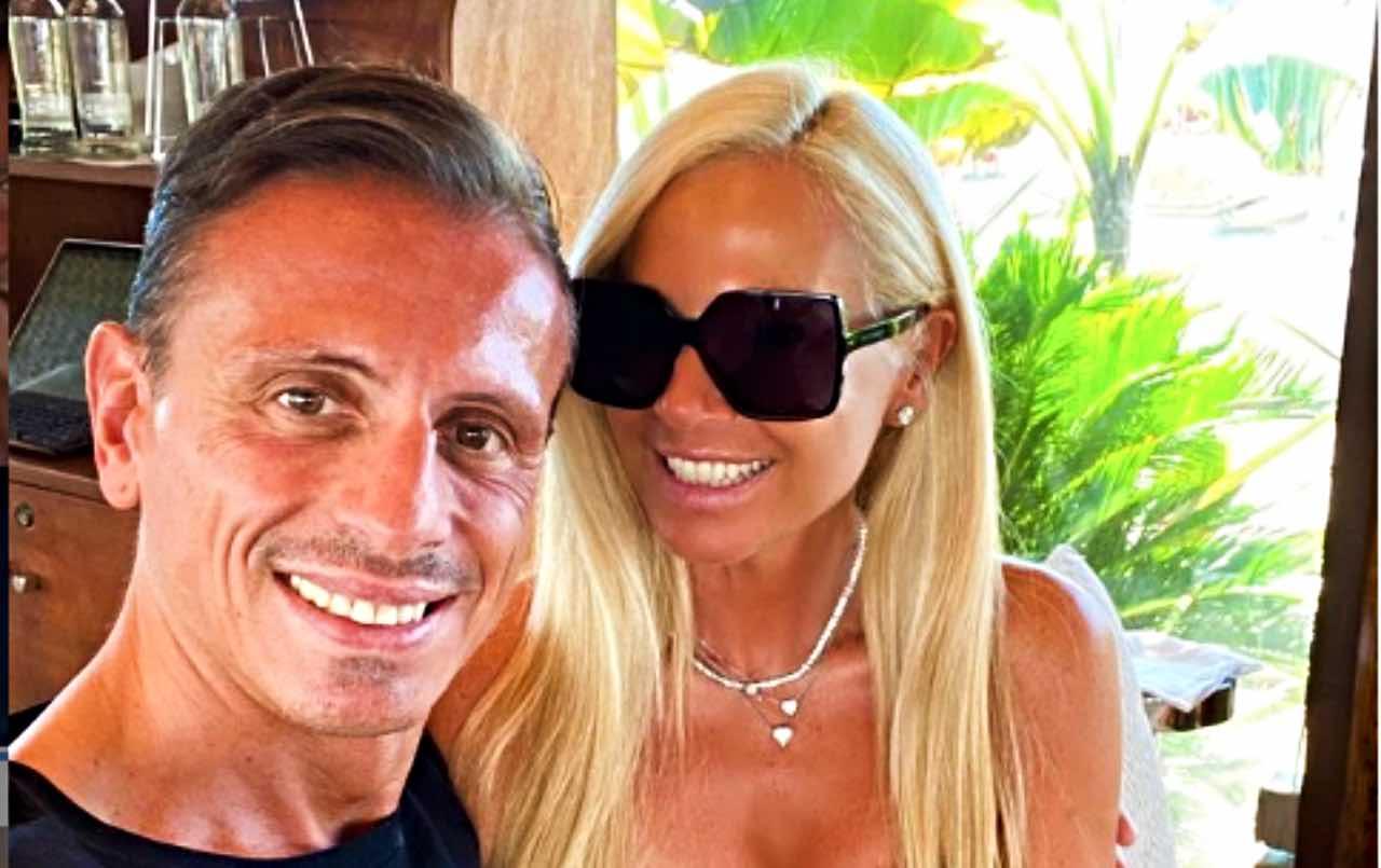 Federica Panicucci pazza d'amore per Marco Bacini: parole emozionanti