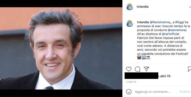 Flavio Insinna a Sanremo? Le parole svelano il retroscena