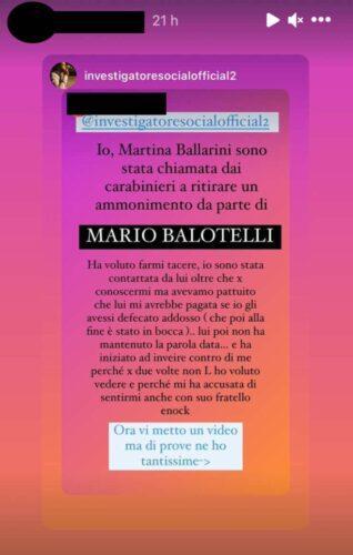 Mario Balotelli, pesanti accuse dall'influencer: ecco cos'è successo