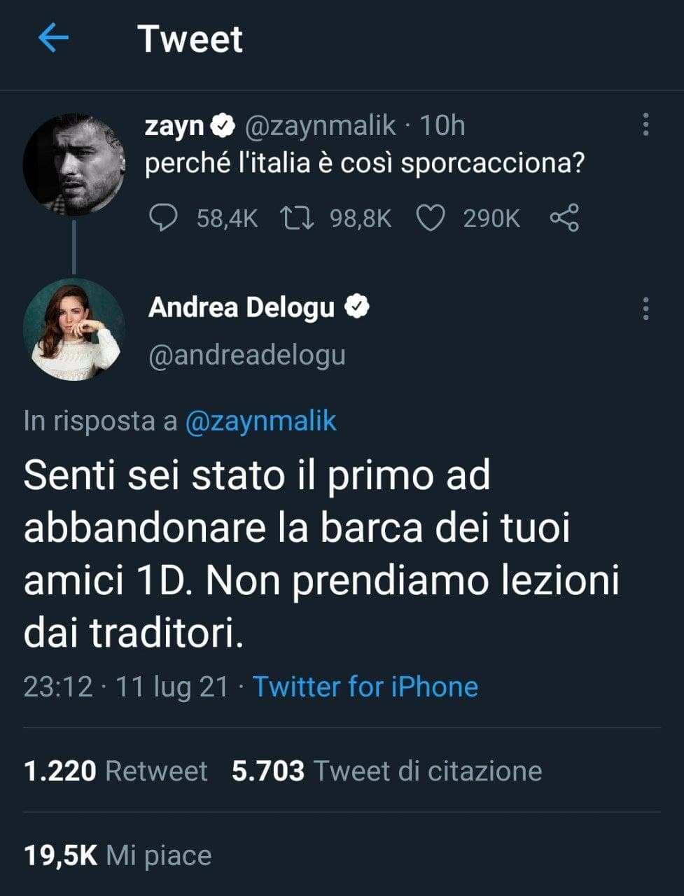 Screen Andrea Delogu (Twitter)