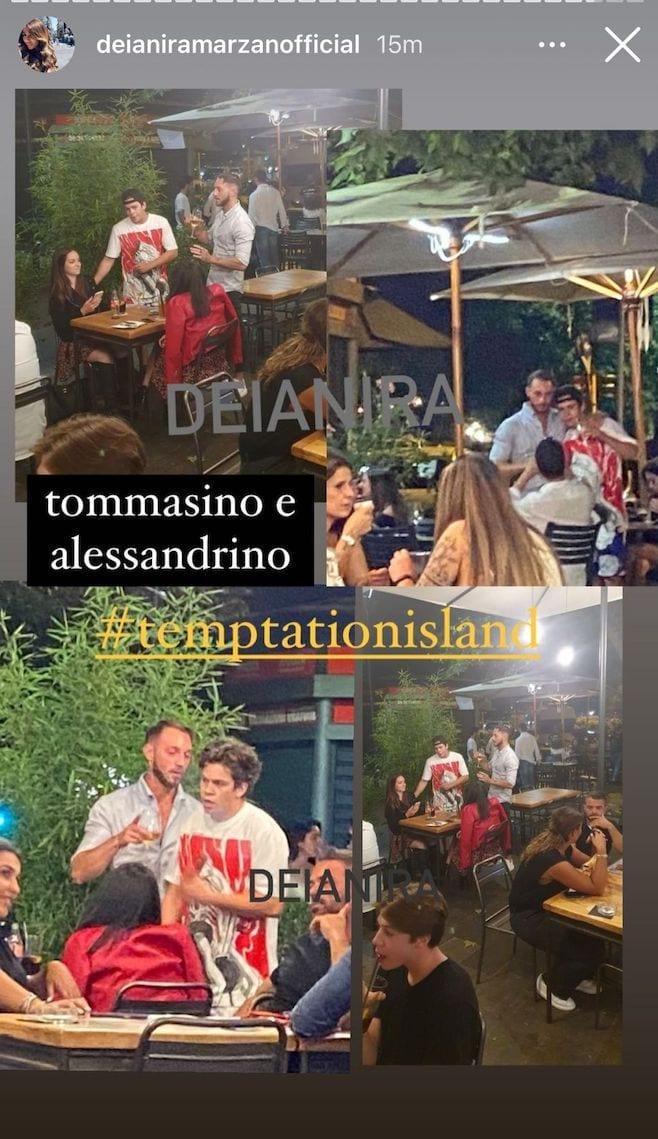 Tommaso e Alessandro (Instagram Deianira Marzano)