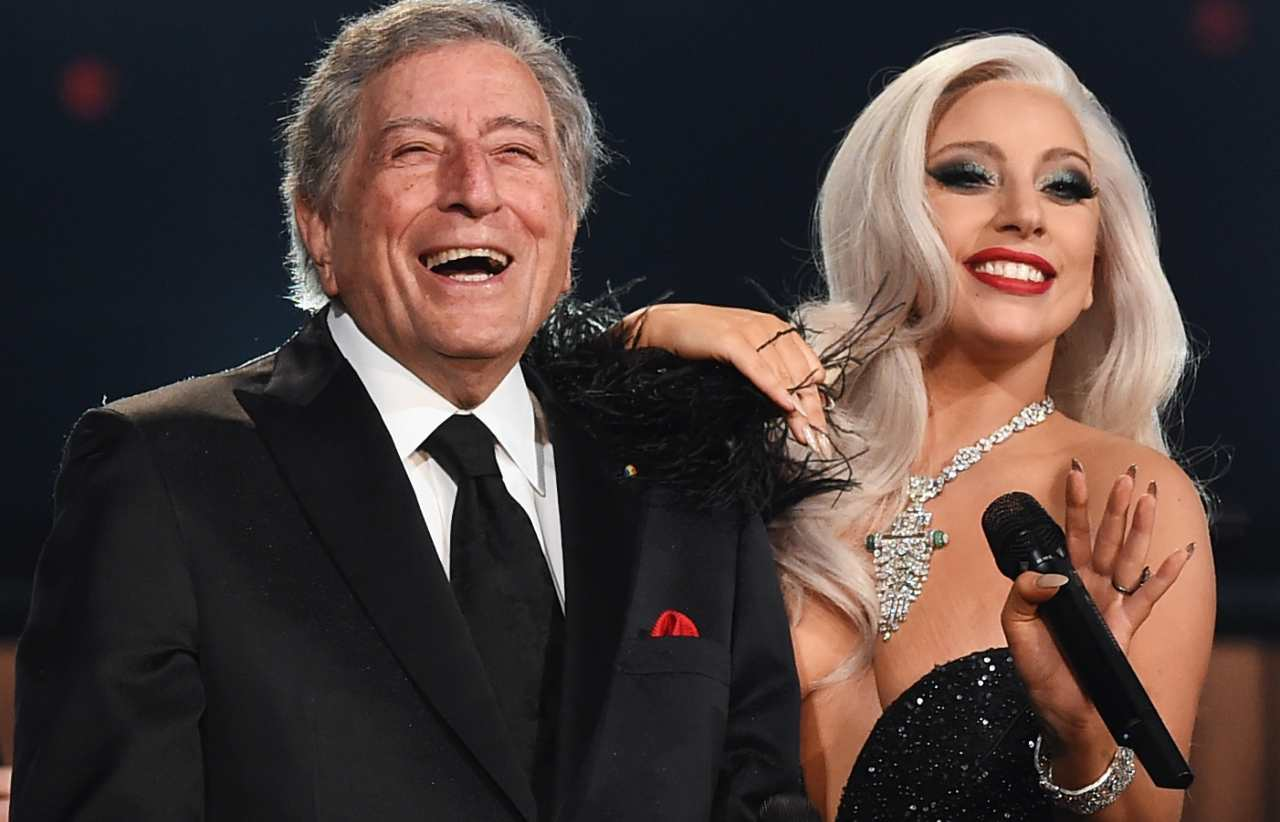 Tony Bennet e Lady Gaga (Getty Images)