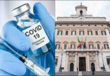 Vaccino e Parlamento (AdobeStock)