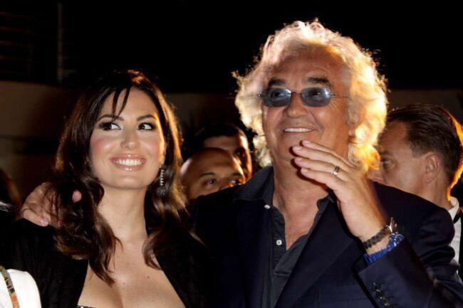 Elisabetta Gregoraci e Flavio Briatore (GettyImages)