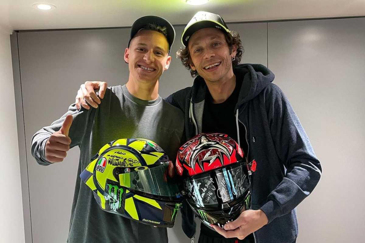 Fabio Quartararo e Valentino Rossi (Instagram)
