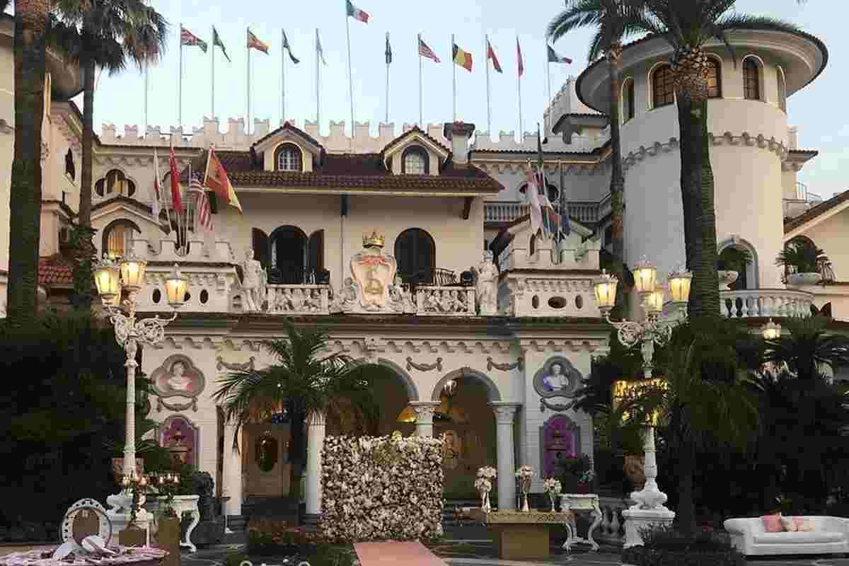 Il castello delle cerimonie (Google Images)