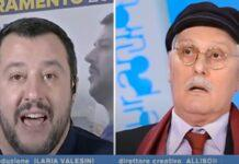 Matte Salvini e Antonio Pennacchi (Youtube)