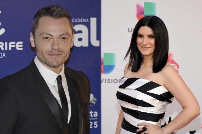 Tiziano Ferro e Laura Pausini (Getty Images)