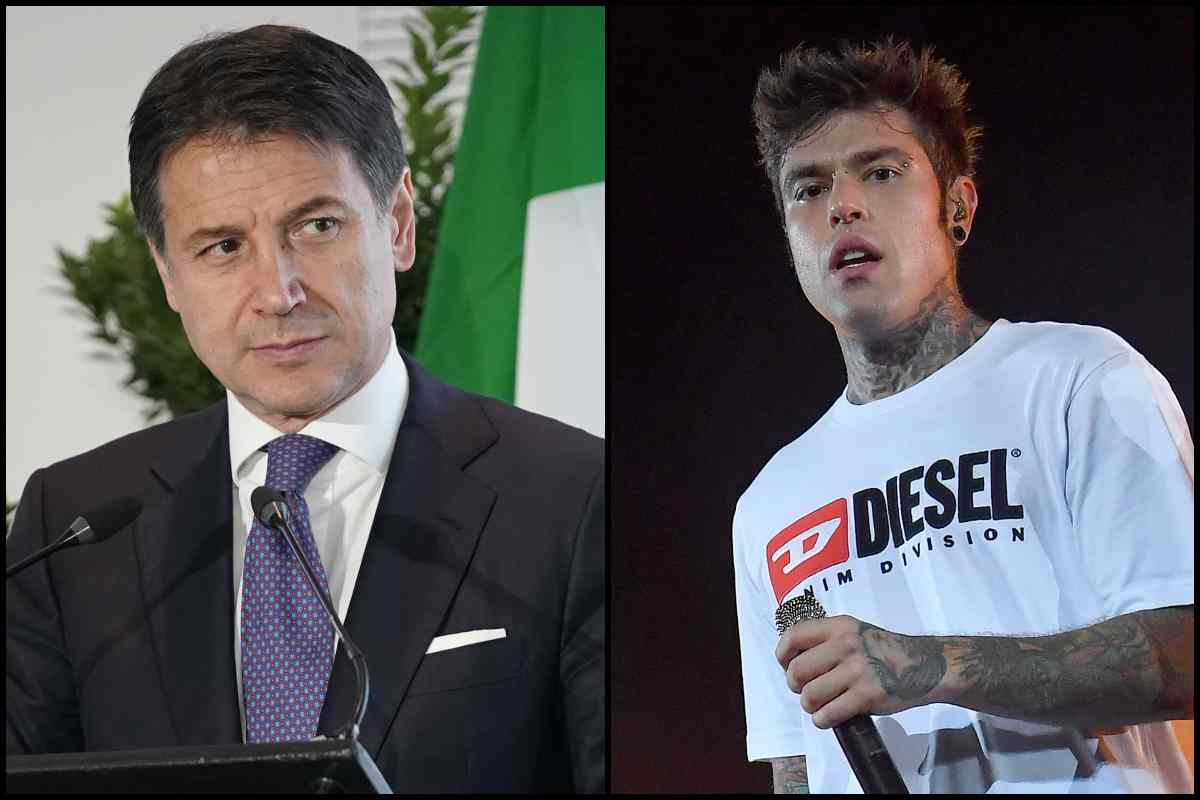 Conte e Fedez (Getty Images)