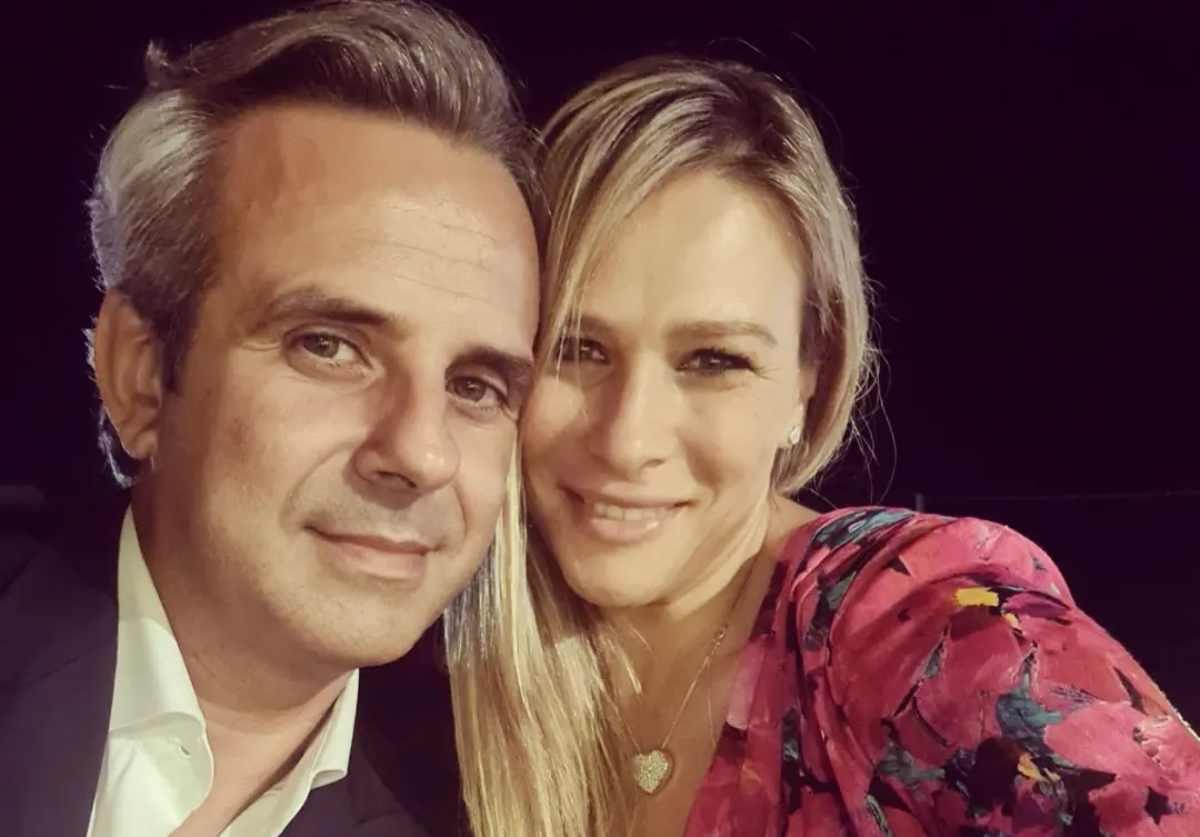 Cosmanna Ardillo con il marito Alessandro Porcelli (Instagram)