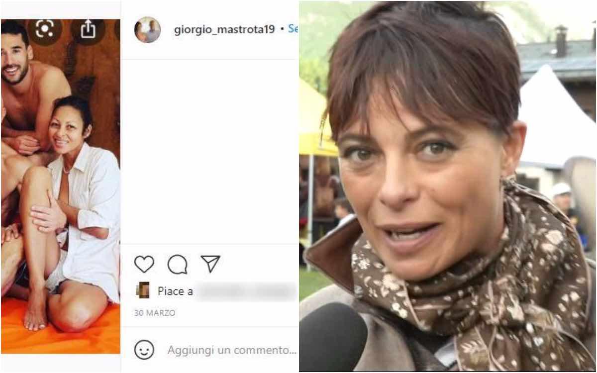 Natalia Estrada moglie mastrota sosia Giorgio Mastrota e Floribeth Gutierrez