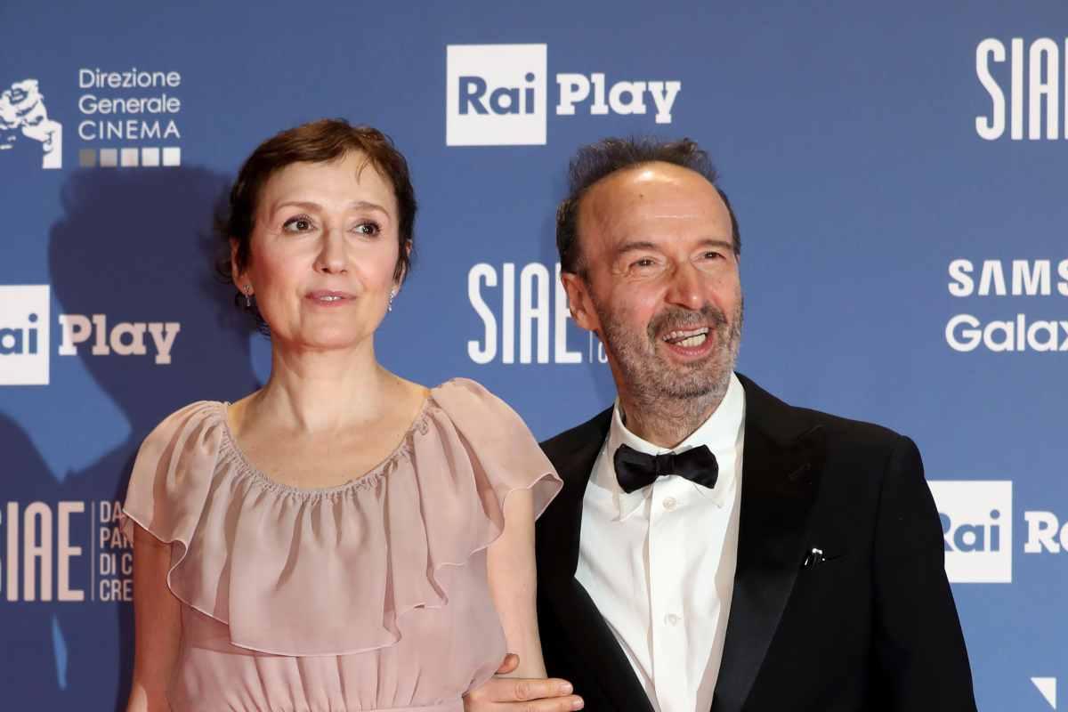Nicoletta Braschi e Roberto Benigni (GettyImages)