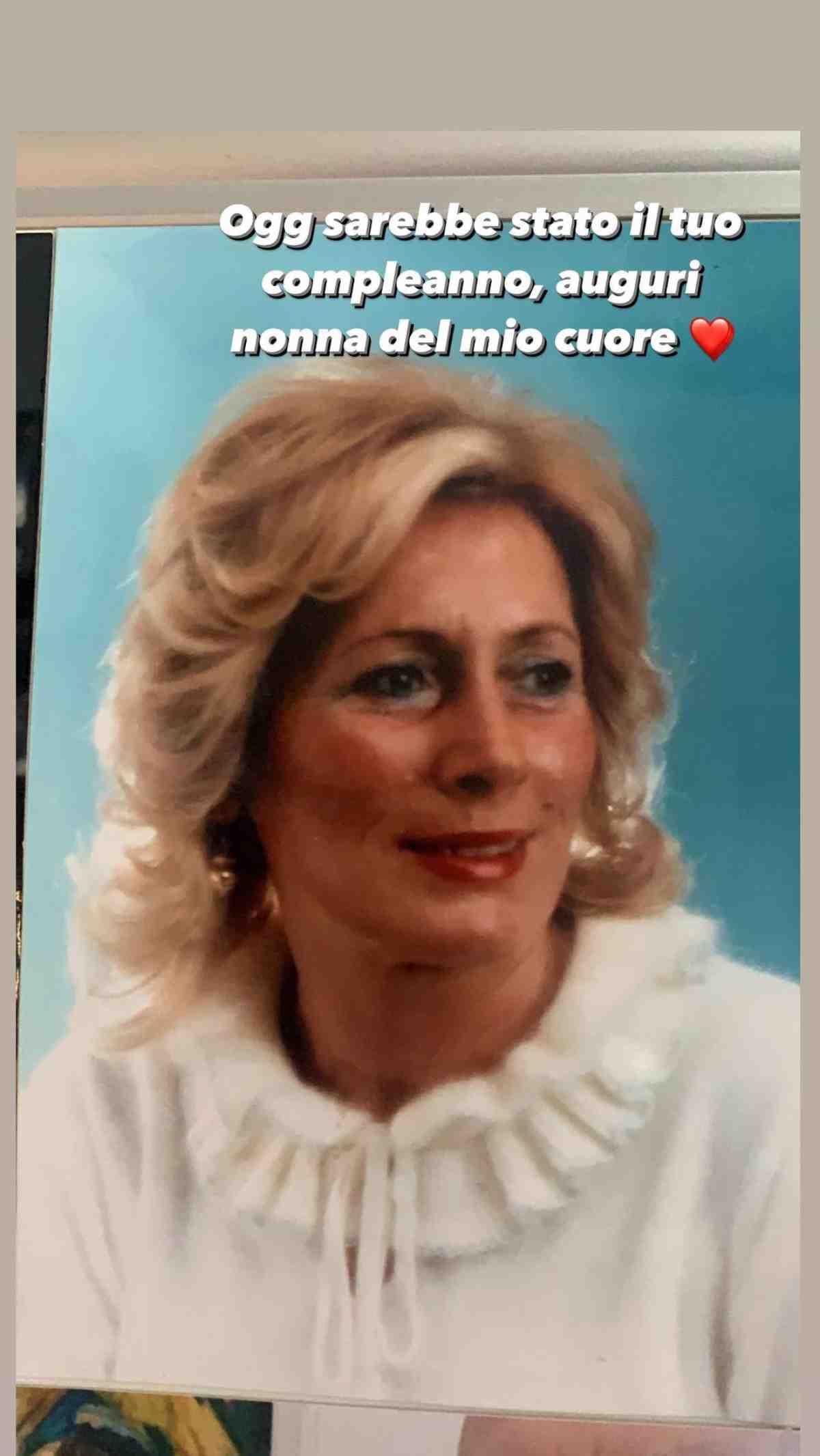 Nonna Chiara Ferragni (Instagram)