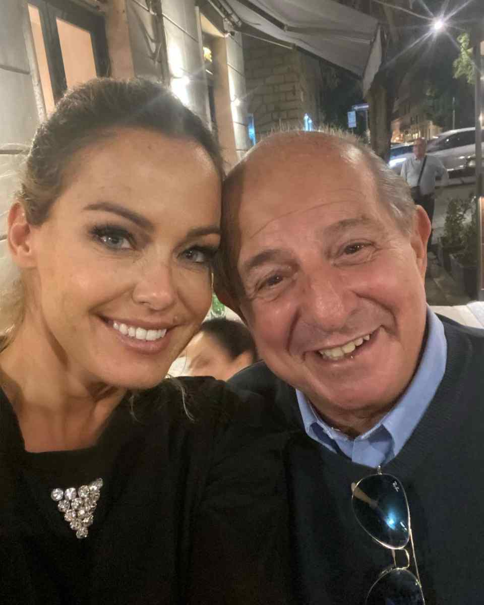 Sonia Bruganelli e Giancarlo Magalli (Instagram)