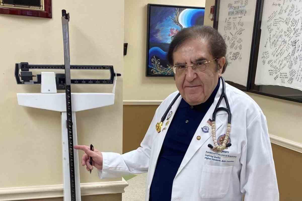 Vite al limite, Dr. Nowzaradan (Instagram @younannowzaradan)