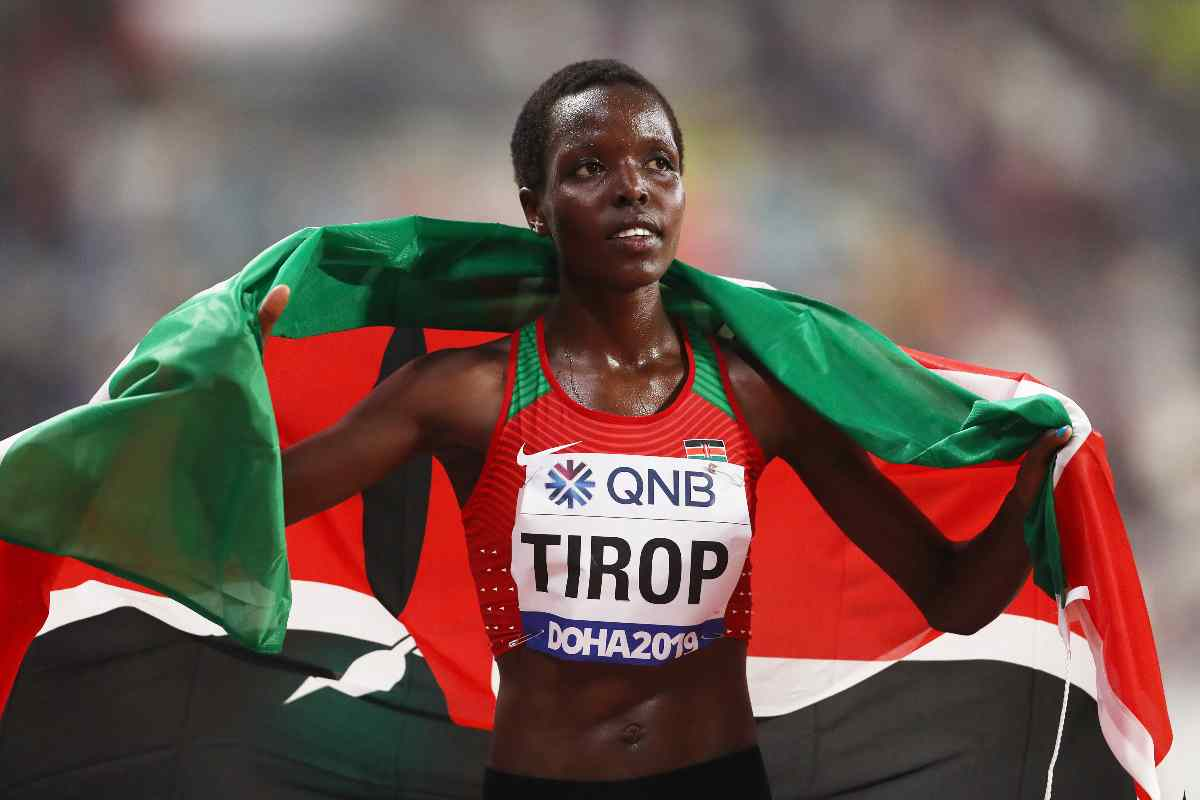 Agnes Tirop (Getty Images)