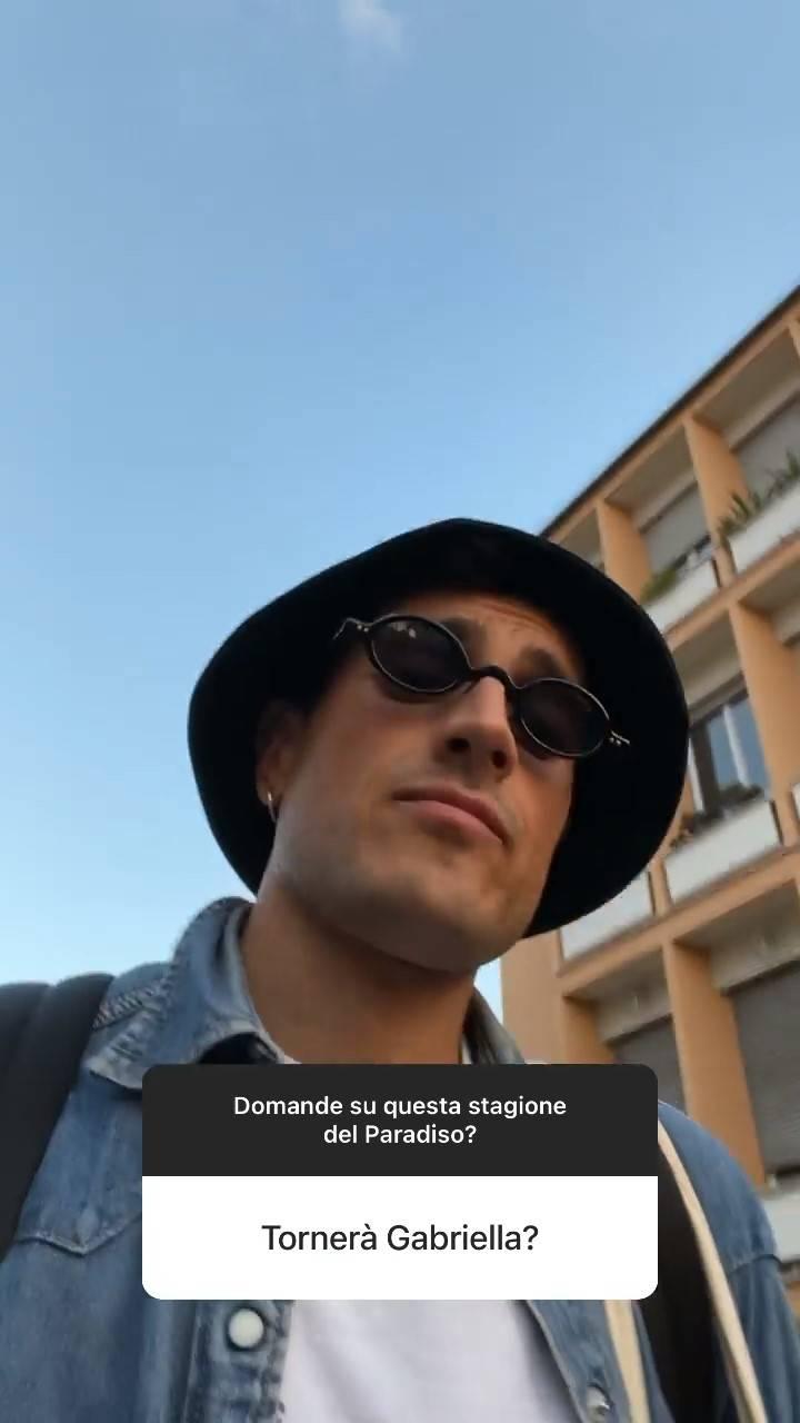 Emanuel Caserio su Gabriella (Instagram)