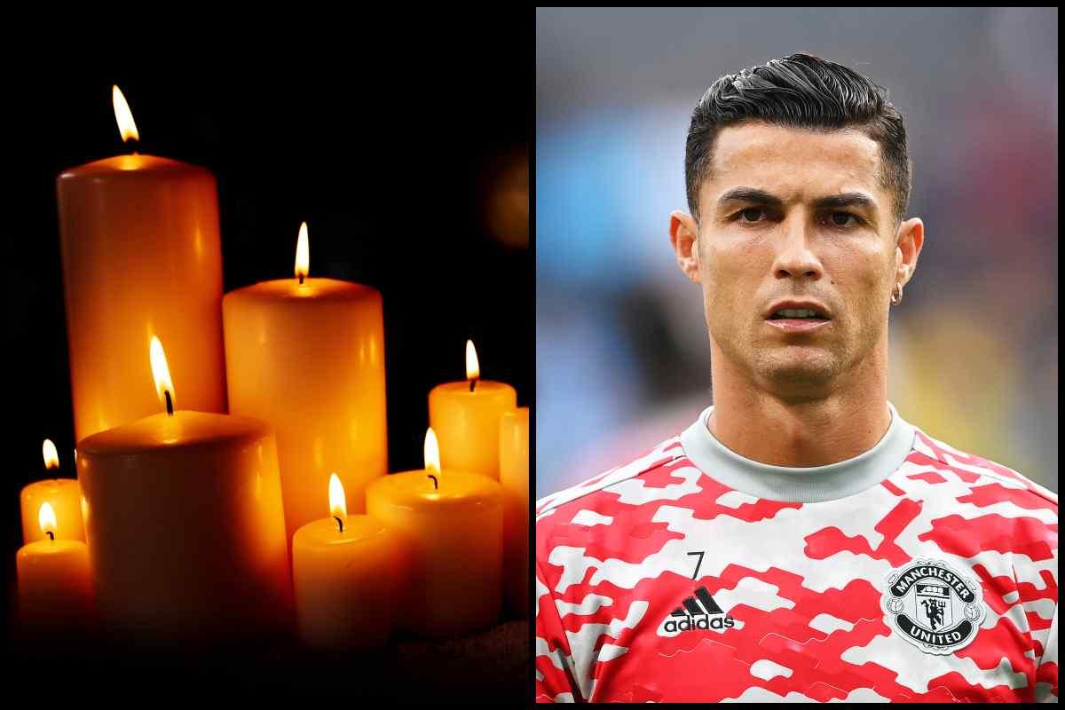 Lutto Cristiano Ronaldo