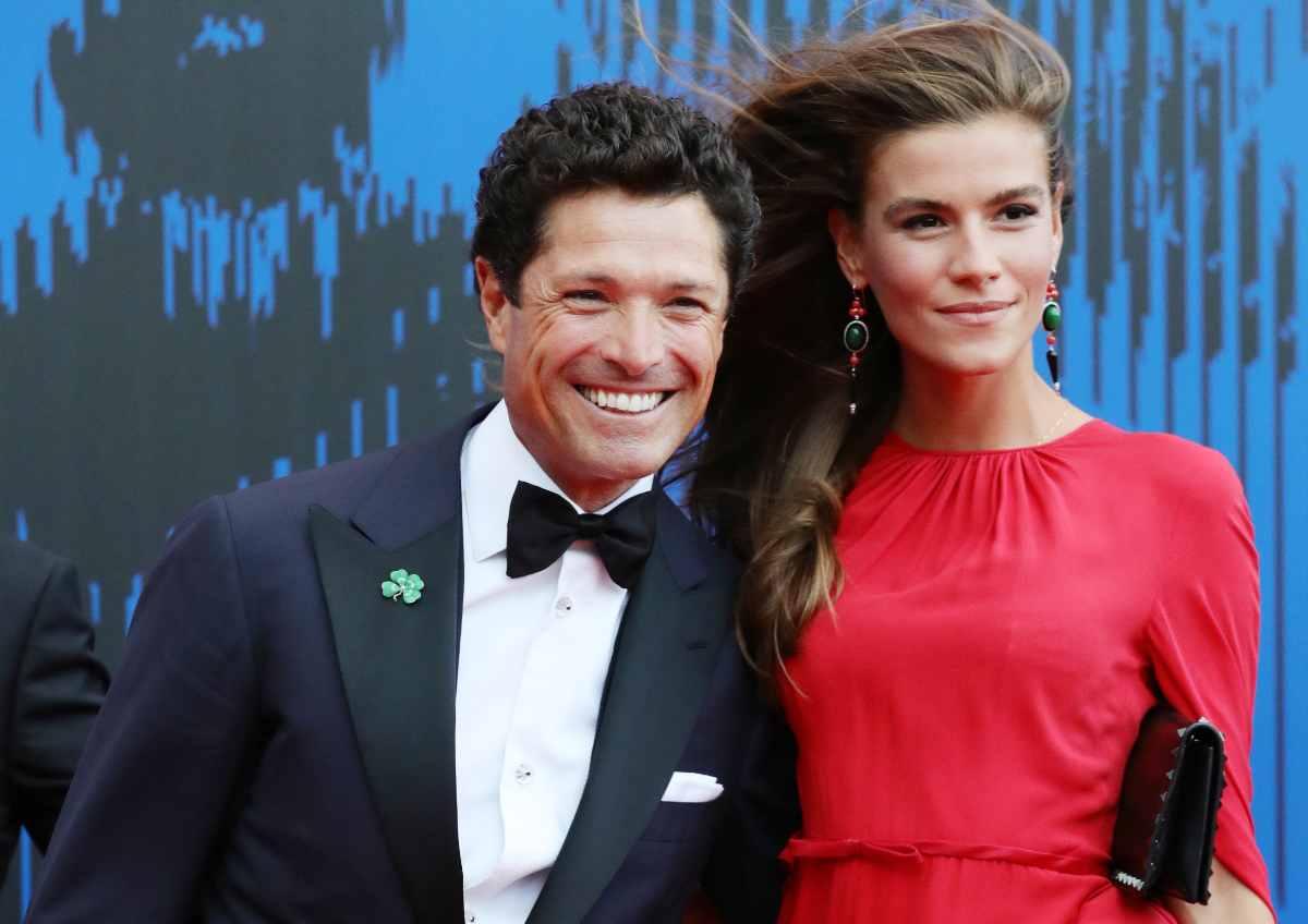 Matteo Marzotto e Nora Shkreli (Getty Images)