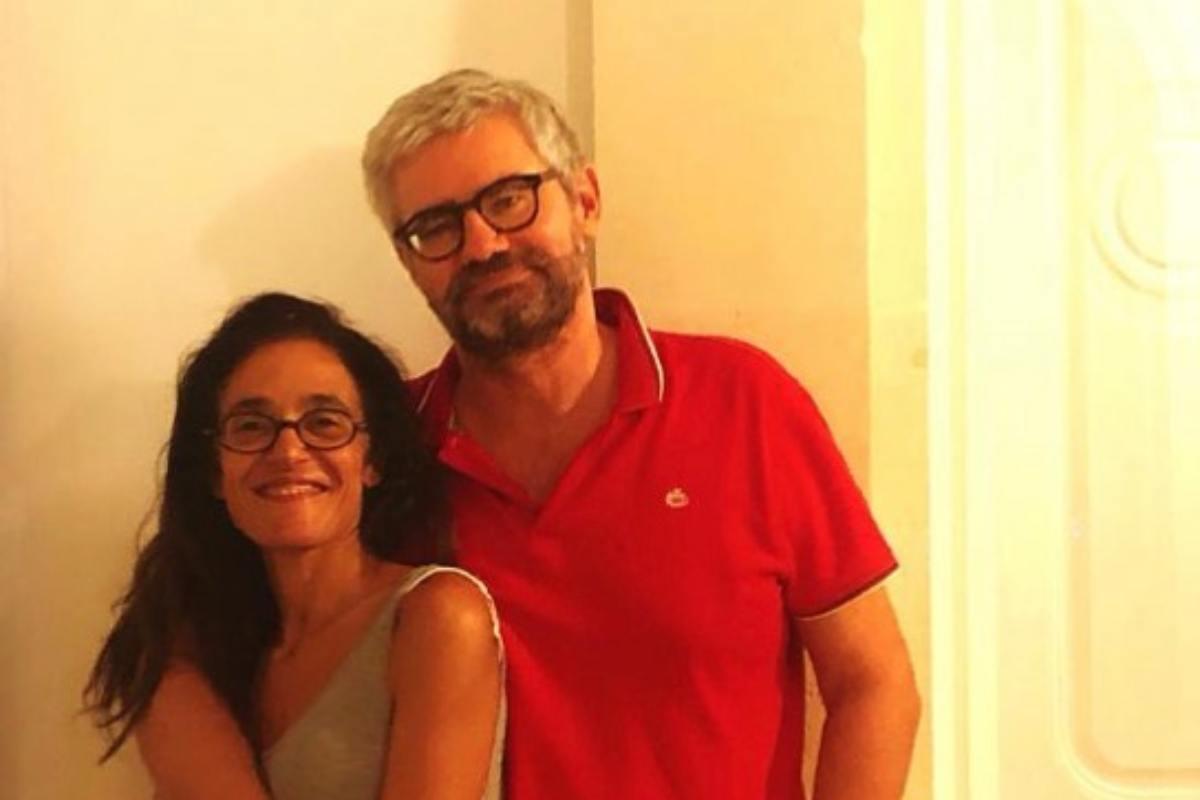 Michela Marzano e Jacques De Saint Victor (Instagram @michelamarzano)