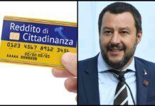Reddito di Cittadinanza e Matteo Salvini (AdobeStock e GettyImages)