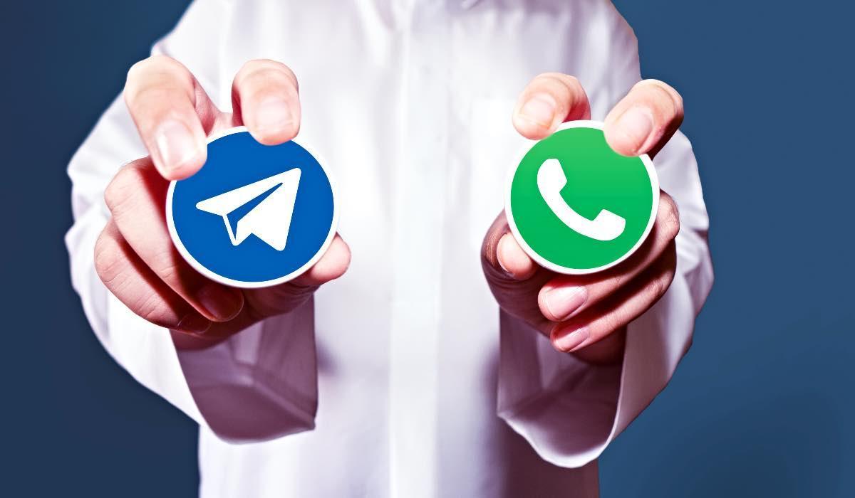 Telegram, colpo grosso e il messaggio su Whatsapp che non ti aspetti