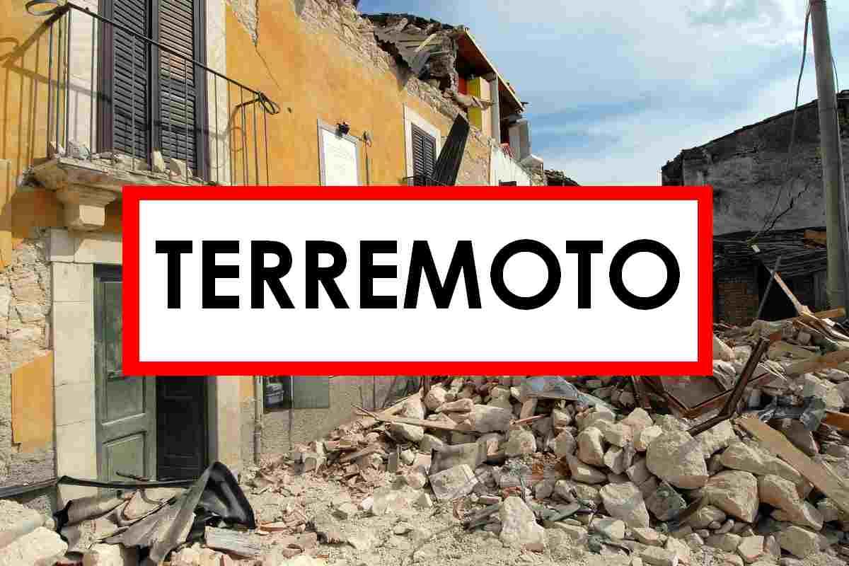 Terremoto in provincia della Basilicata