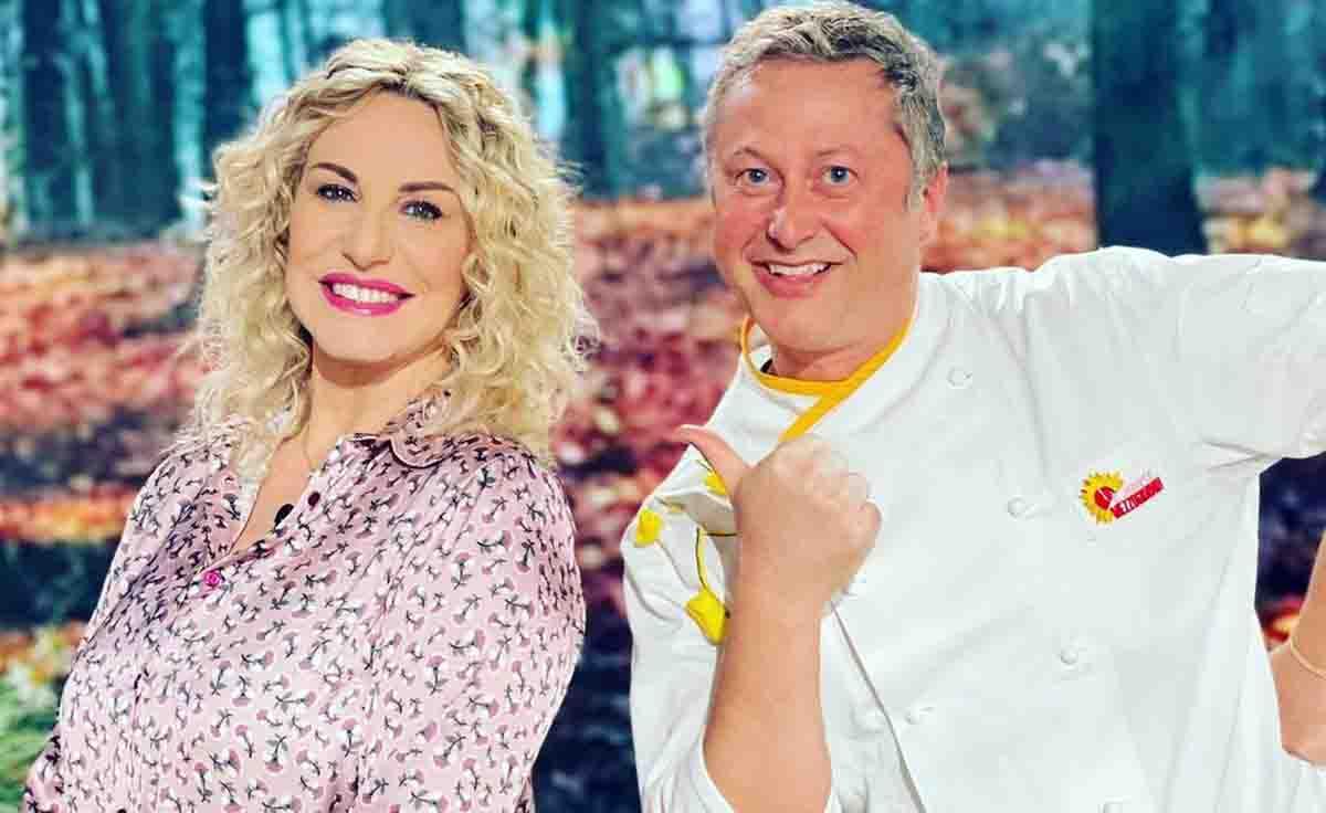 Daniele Persegani e Antonella Clerici (instagram)